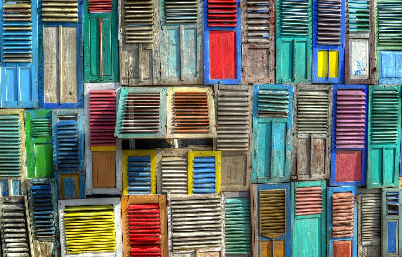infissi colorati