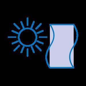 thermalfibra icona irraggiamento