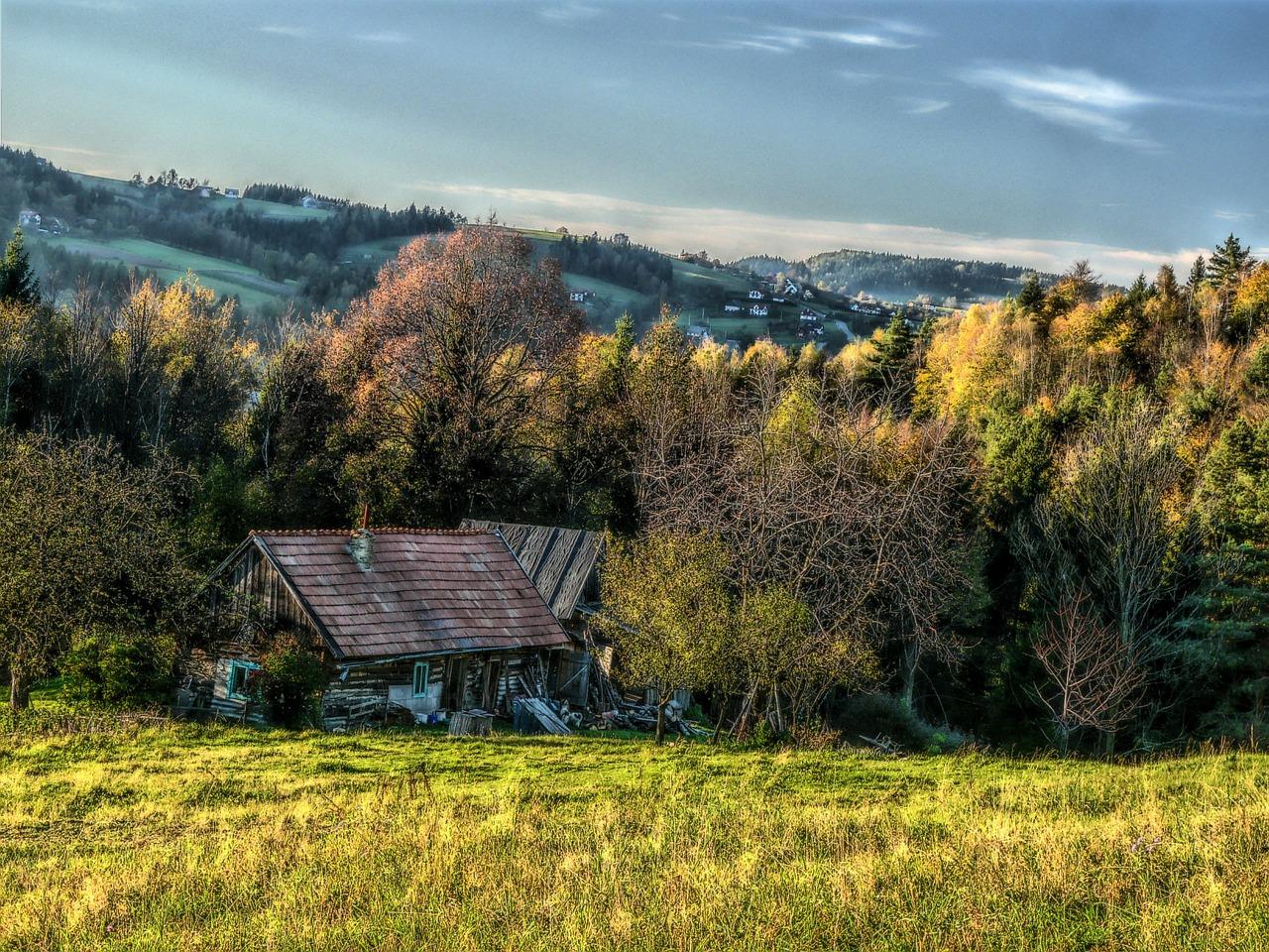 infissi casa in montagna